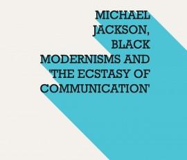 Michael Jackson Black Modernism