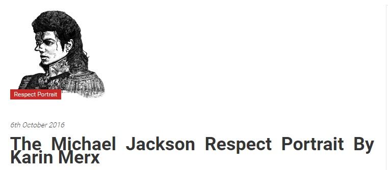 mj-respect The Michael Jackson Respect Portrait
